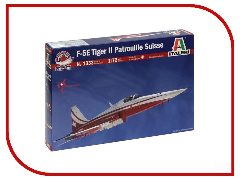 Сборная модель Italeri Самолет F-5E Tiger ii Patrouille Suisse 1333