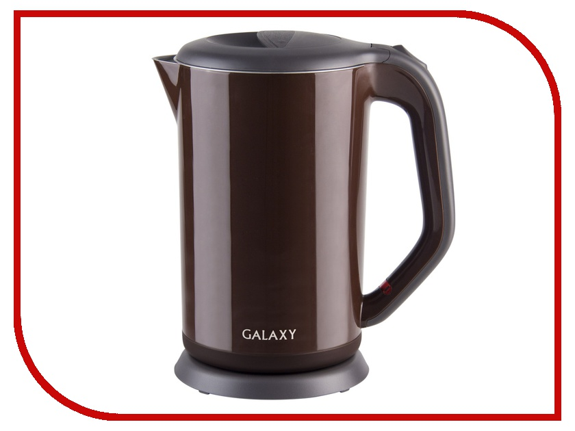 Чайник Galaxy GL 0318 Brown чайник galaxy gl 0318