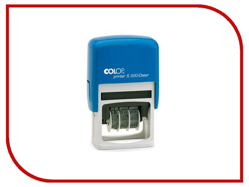 Датер автоматический Colop S220 Bank 4mm 218981 / 105497 датер автоматический colop printer 55 dater bank set 60x4mm 275518