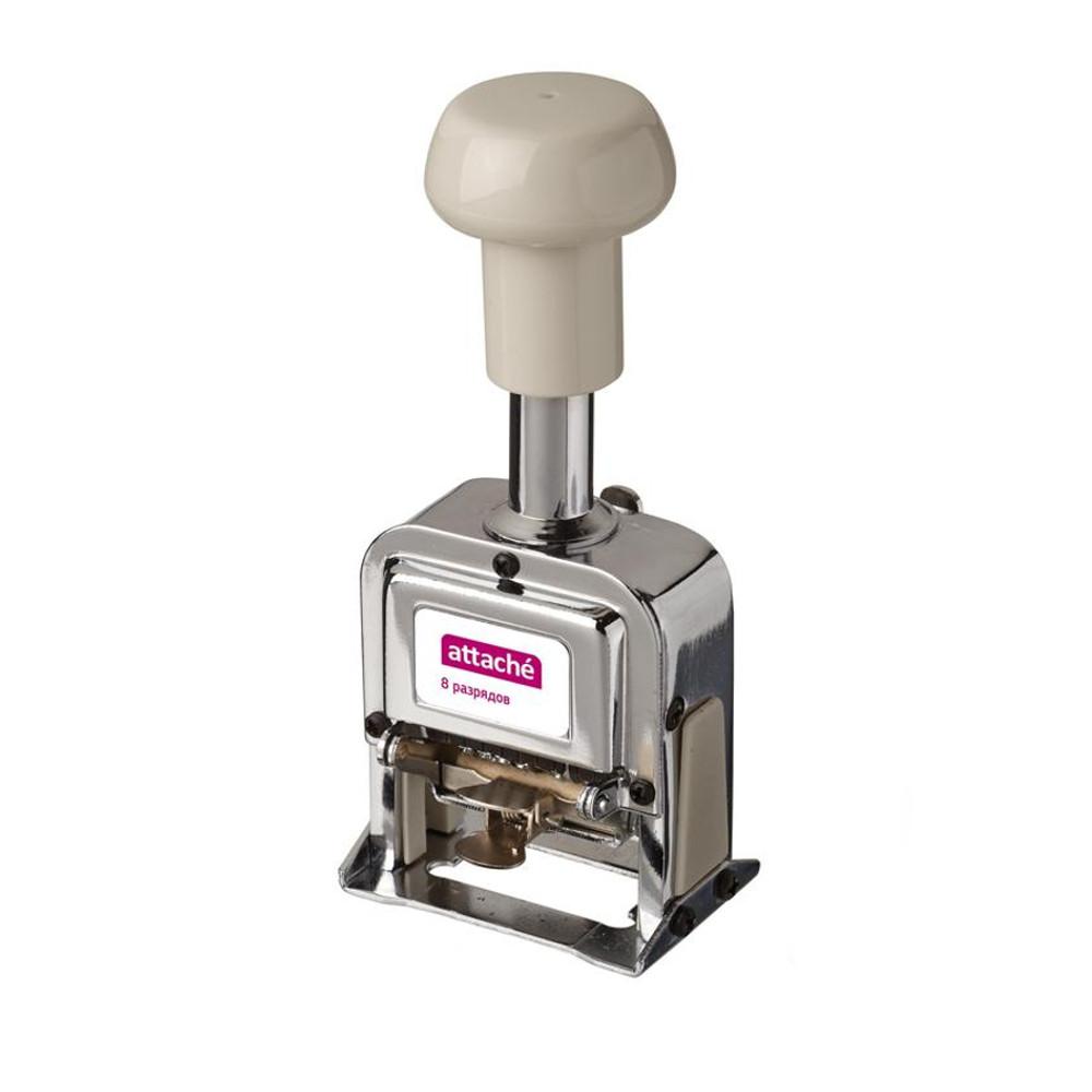 Нумератор автоматический Attache 8-и разрядный 4.8mm 546041 цены онлайн