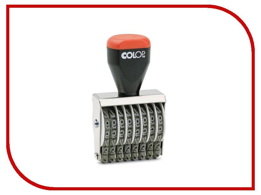 Нумератор ручной Colop 05008 8 разрядный 5mm 219001