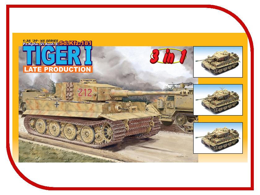 Сборная модель Dragon Tiger 6253 сборная модель dragon t 34 85m 3318