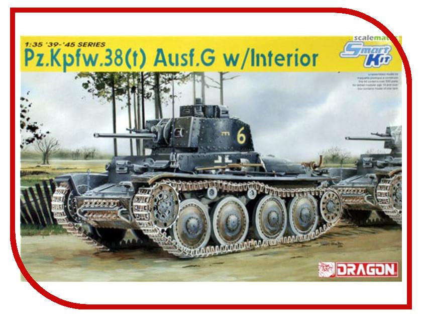 Сборные модели 6290  Сборная модель Dragon Pz.Kpfw.38t Ausf.G 6290