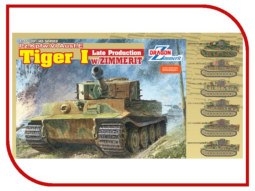 Сборная модель Dragon Tiger I 6383 сборная модель dragon t 34 85m 3318