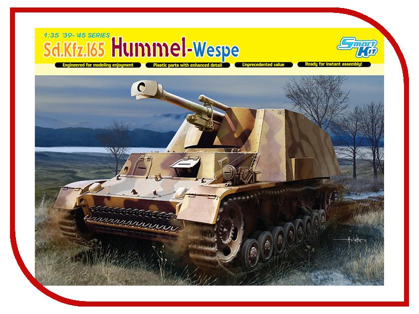 Сборная модель Dragon Hummel-Wespe 6535 сборная модель dragon t 34 85m 3318
