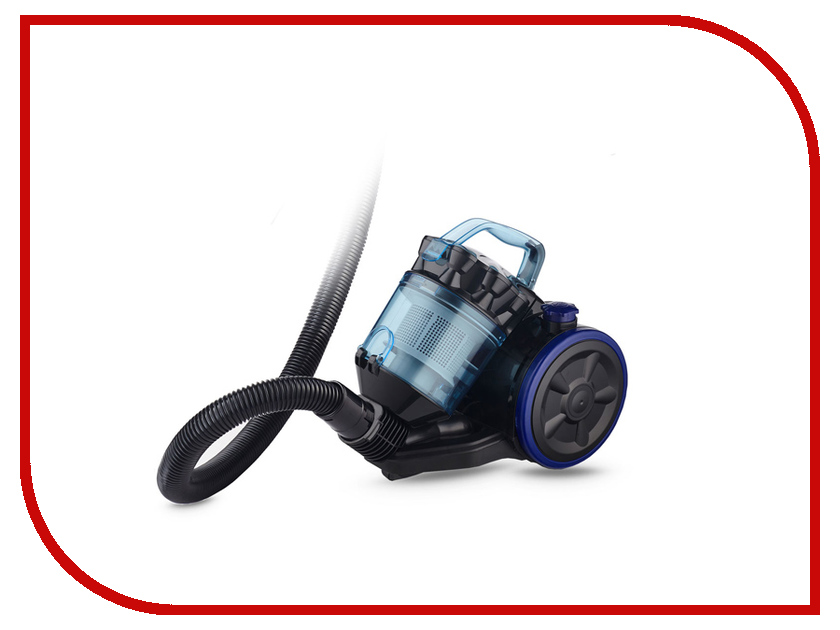 Пылесос Ginzzu VS424 Black-Blue пылесос ginzzu vs419