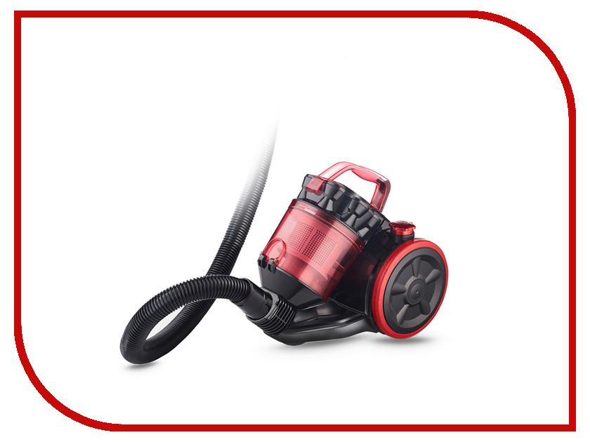 Пылесос Ginzzu VS424 Black-Red пылесос ginzzu vs419