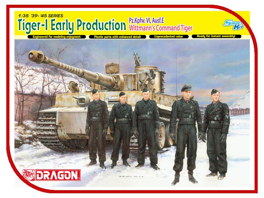Сборная модель Dragon Tiger I 6730 сборная модель dragon t 34 85m 3318