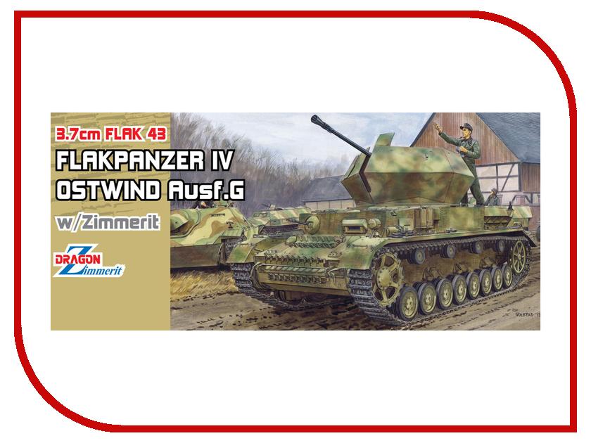 Сборная модель Dragon Flak43 Flakpanzer IV 6746 realts dragon 6746 1 35 flak 43 flakpanzer iv ostwind w zimmerit