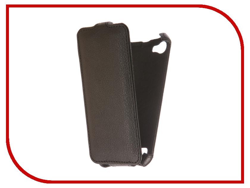 Аксессуар Чехол Fly FS459 Nimbus 16 Zibelino Classico Black ZCL-FLY-FS459-BLK аксессуар чехол alcatel one touch 5010d pixi 4 zibelino classico black zcl alc 5010d blk