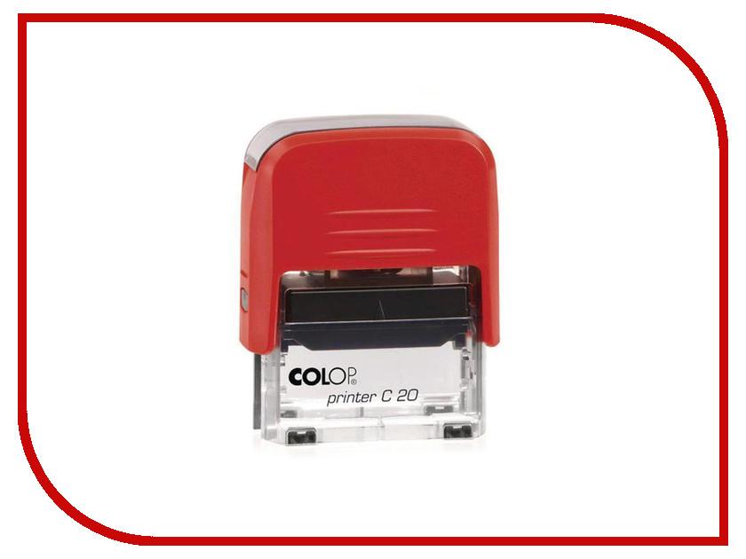 Штамп стандартный Colop Printer C20 1.1 слово Получено 218972 oem roland vp540 dx4 printer pully rs640 solvent printer pulley