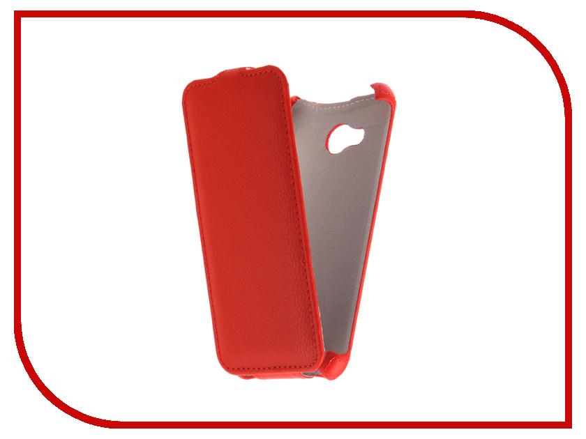 Аксессуар Чехол Fly FS458 Stratus 7 Zibelino Classico Red ZCL-FLY-FS458-RED мобильный телефон fly fs458 champagne