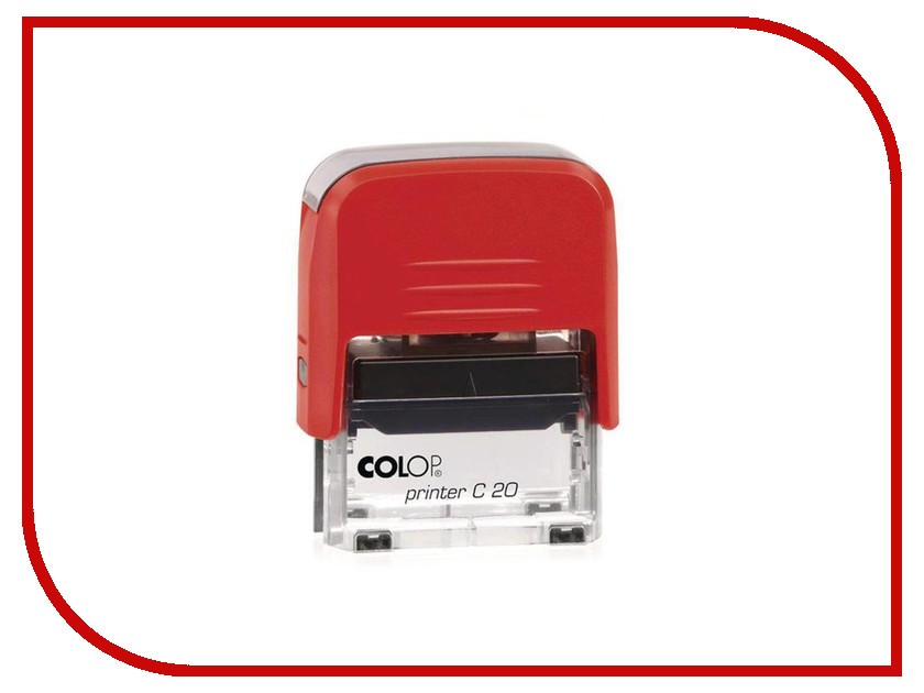 Штамп стандартный Colop Printer C20 1.3 слово Погашено 520394 alzenit for ricoh 1075 1060 1065 9001 9002 oem new fuser lower roller printer supplies on sale