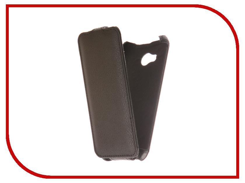 Аксессуар Чехол Fly FS458 Stratus 7 Zibelino Classico Black ZCL-FLY-FS458-BLK аксессуар чехол alcatel one touch 5010d pixi 4 zibelino classico black zcl alc 5010d blk