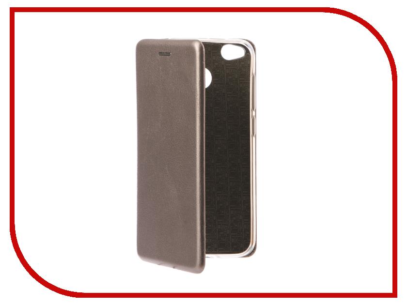 Аксессуар Чехол Xiaomi Redmi 4X Zibelino Book Grey ZB-XIA-RDM-4X-GRY аксессуар чехол xiaomi redmi 4x zibelino classico black zcl xia rdm 4x blk