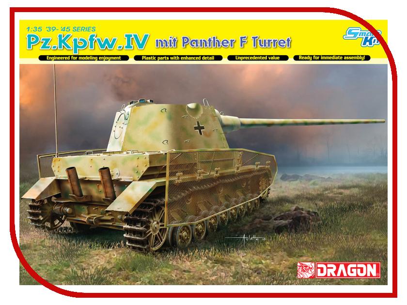 Фото Сборная модель Dragon Pz.Kpfw.IV mit Panther 6824