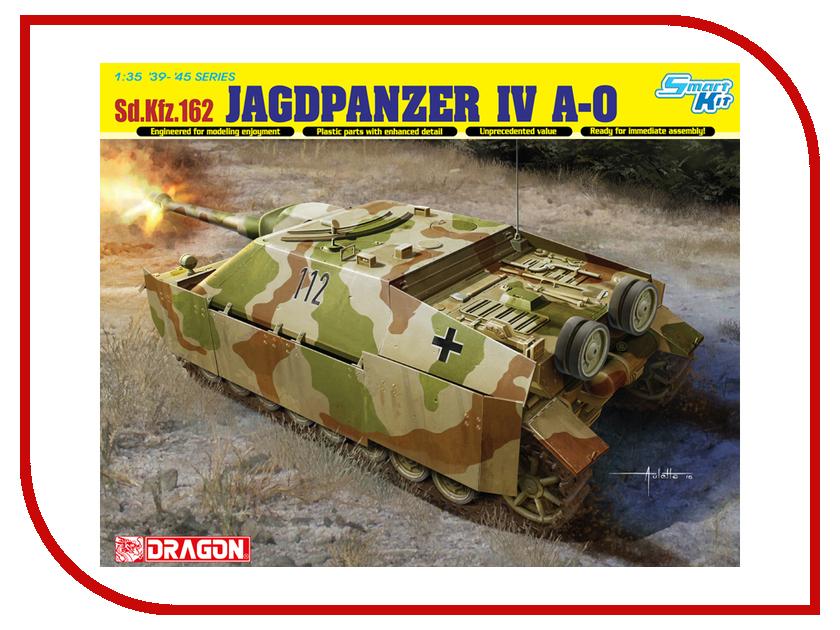 Сборная модель Dragon Jagdpanter IV A-0 6843 сборная модель dragon t 34 85m 3318