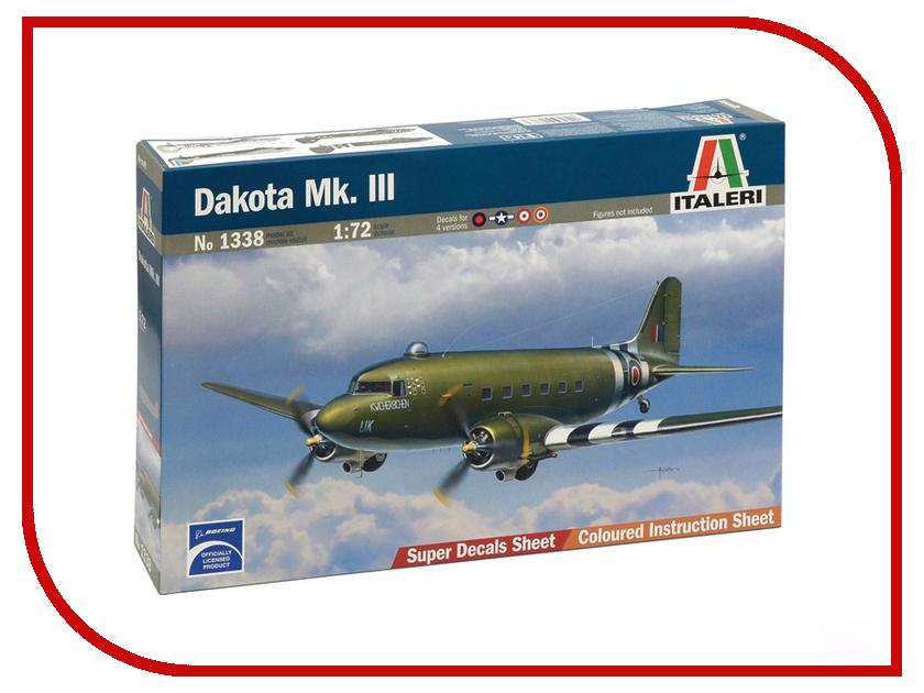 Сборная модель Italeri Самолет Dakota Mk.lll 1338 бюсси м самолет без нее