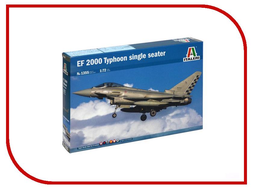 Сборная модель Italeri Самолет EF-2000 Typhoon 1355 сборная модель italeri самолет cant z 506 airone 1360