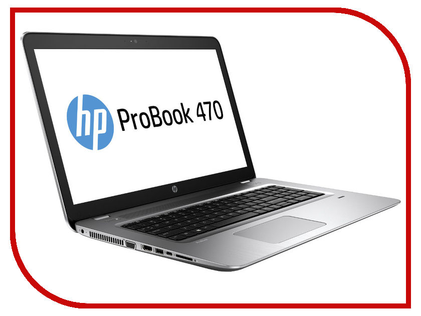 Ноутбук HP Probook 470 G4 Y8A83EA Silver (Intel Core i5-7200U 2.5GHz/8192Mb/1Tb/DVD-RW/nVidia GeForce 930MX 2048Mb/Wi-Fi/Bluetooth/Cam/17.3/1920x1080/Windows 10 Pro 64-bit) hewlett packard hp лазерный мфу печать копирование сканирование