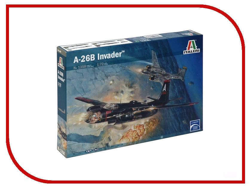 Сборная модель Italeri Самолет A-26B Invader 1358