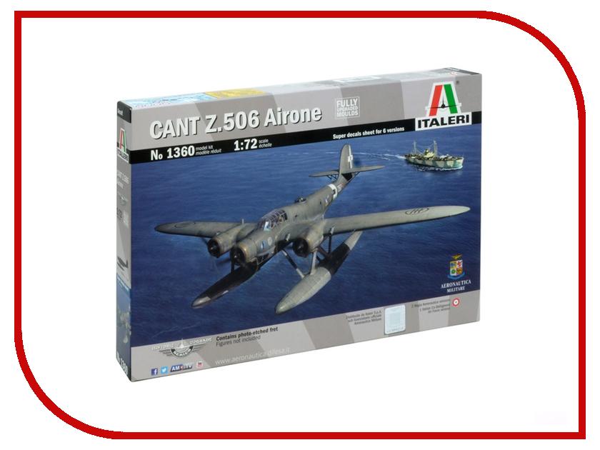 Сборная модель Italeri Самолет Cant Z 506 Airone 1360
