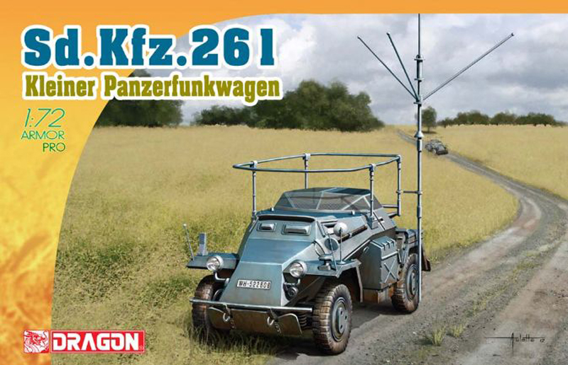 Сборная модель Dragon Sd.Kfz.261 7447