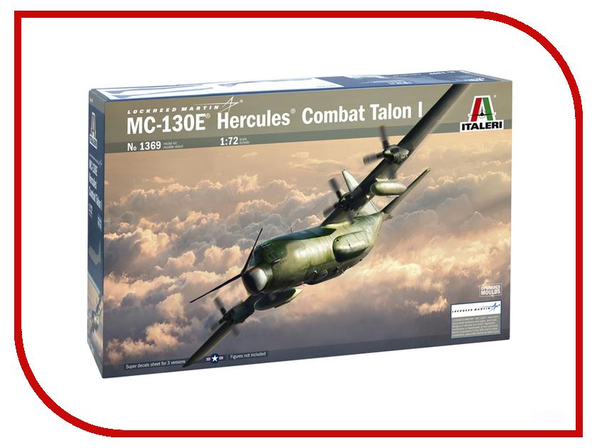 Сборная модель Italeri Самолет Hercules MC-130H 1369