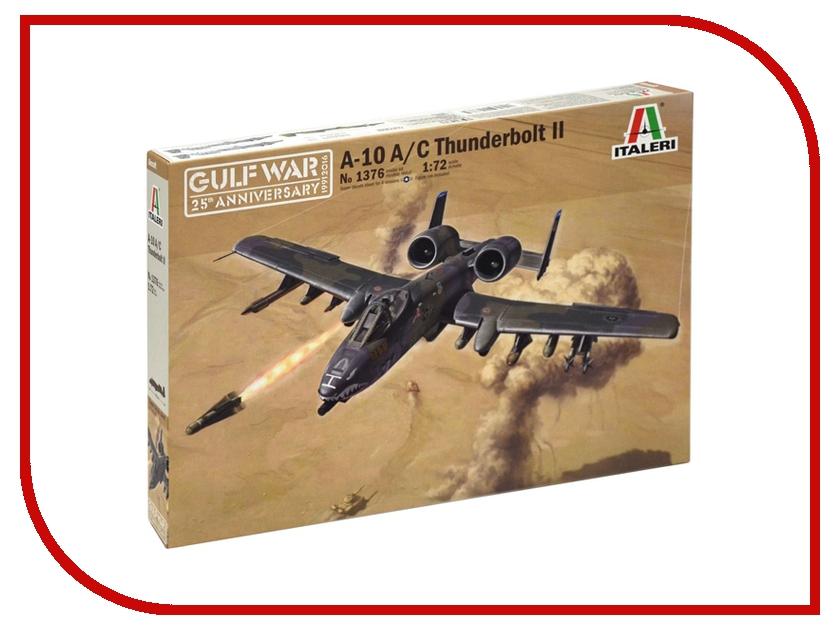 Сборная модель Italeri Война В Заливе Самолет A-10 A/C Thunderbolt 1376