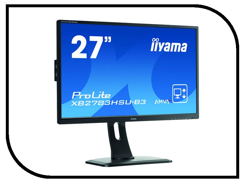 Монитор iiyama ProLite XB2783HSU-B3 наклейки 3 3d