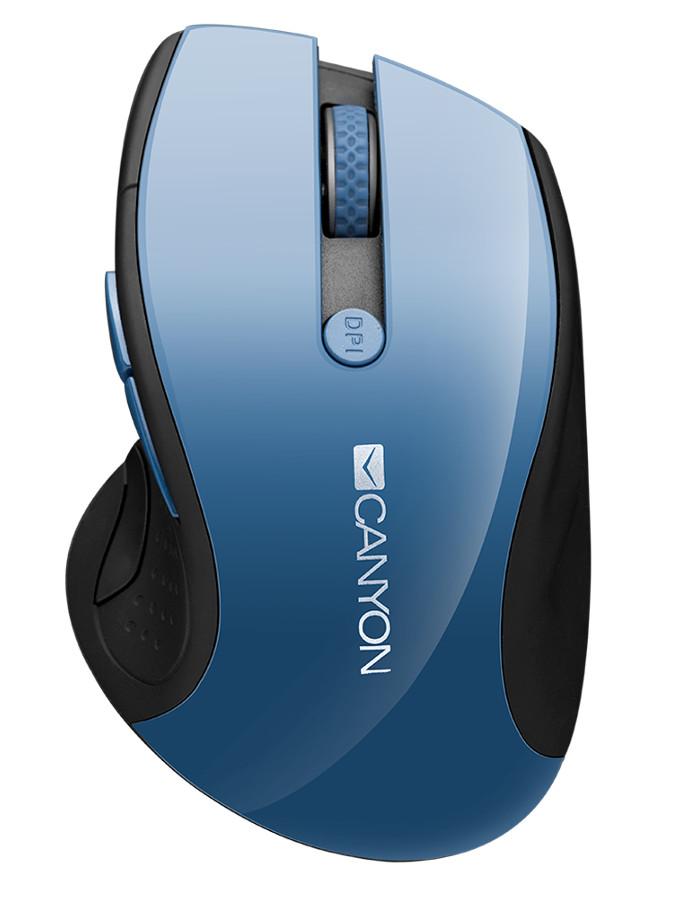 Мышь Canyon CNS-CMSW01BL Blue Gray