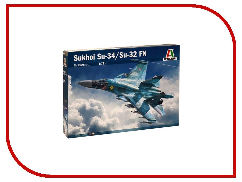 Сборная модель Italeri Самолеты Sukhoi Su-34 / Su-32 FN 1379 at26df321 su