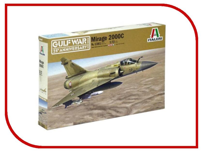 Сборная модель Italeri Война в Заливе Самолет Mirage 2000C 1381 радиоуправляемый самолет lanxiang mirage 2000 pnp page 3
