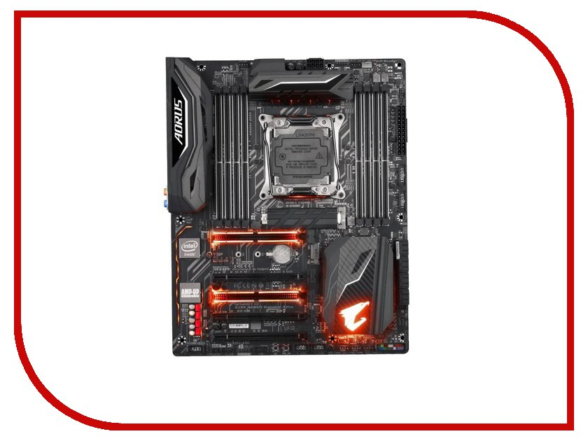 Материнская плата GigaByte X299 AORUS Gaming 3 Pro thunderobot st pro gaming notebook gray uk