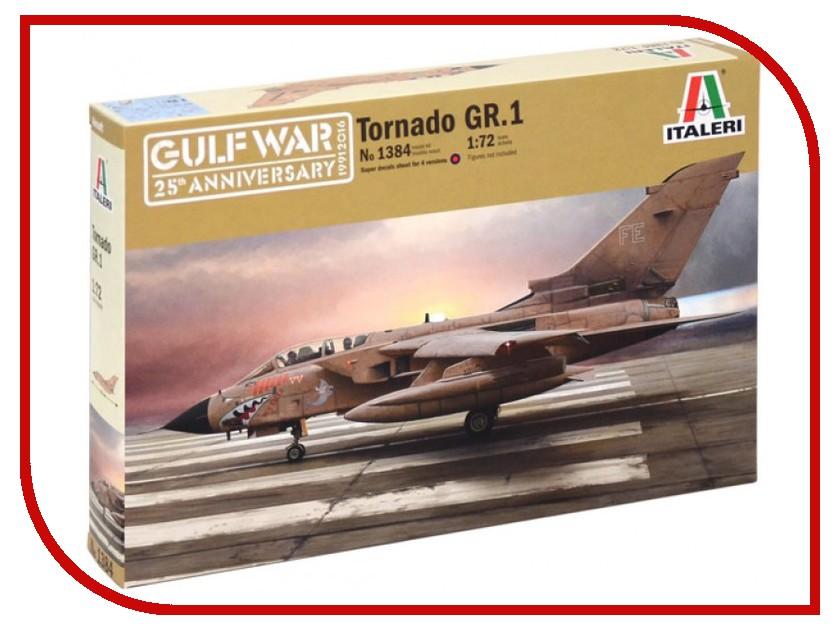 Сборная модель Italeri Война в Заливе Боевой Самолет Tornado GR.1 RAF 1384 бюсси м самолет без нее