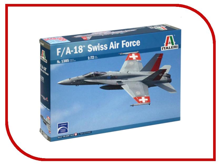 Сборная модель Italeri Самолет F/A-18 Hornet ВВС 1385