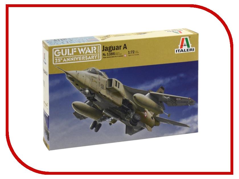 Сборная модель Italeri Самолет Tornado IDS Черная пантера 1291