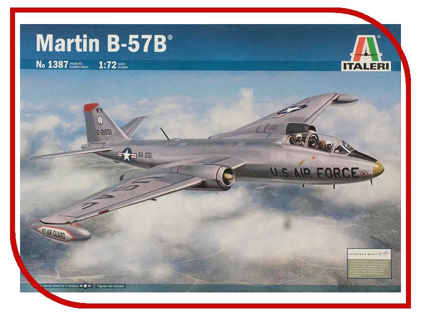 Сборная модель Italeri Реактивный Самолет Martin B-57B IT 17QV00 1387 martin pescatore ma108awkic40