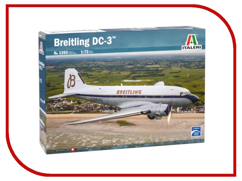 Сборная модель Italeri Самолет Breitling DC-3 1393