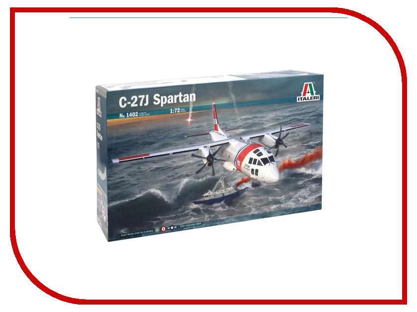 Сборная модель Italeri Самолет C-27J Spartan 1402