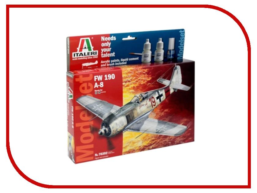 Сборная модель Italeri Самолет Focke Wulf FW-190 А8 70392 сборная модель italeri самолет cant z 506 airone 1360