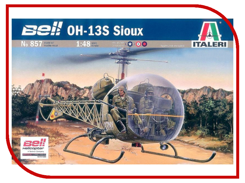 Сборная модель Italeri Вертолёт Bell OH-13S Sioux 0857 plath s the bell jar