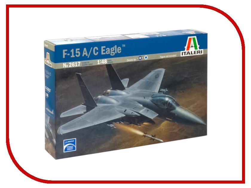 Сборная модель Italeri Самолет F-15 С Eagle 2617
