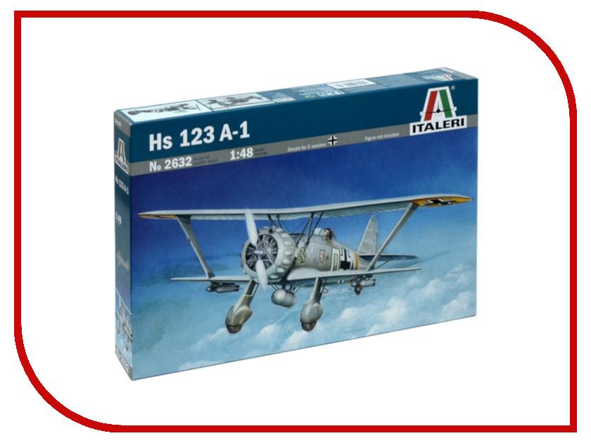 Сборная модель Italeri Самолет HS-123 A-1 2632 123 доставка