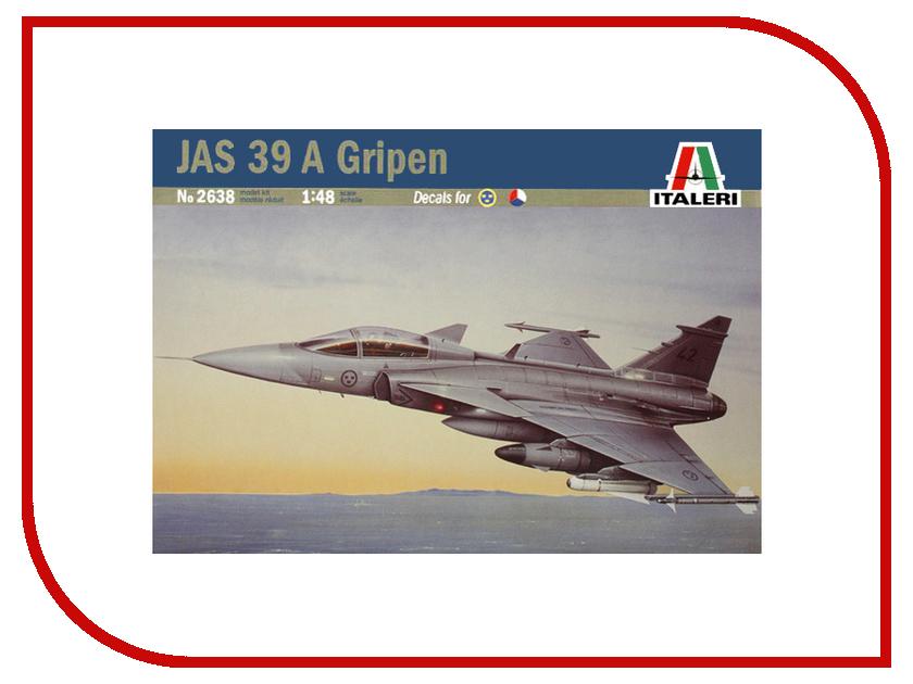 Сборная модель Italeri Самолет JAS 39 A Gripen 2638 сборная модель italeri самолет stirling mk iv 1350