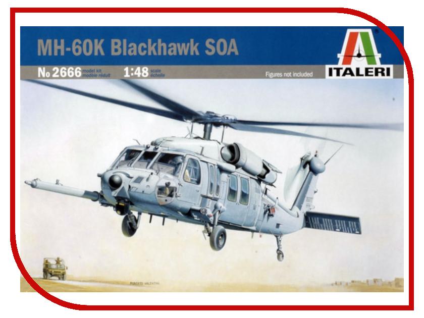 Сборная модель Italeri Вертолёт MH-60K Blackhawk SOA 2666 pocket scale mh 300