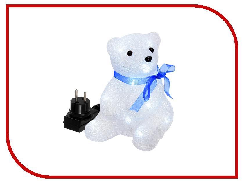 Новогодний сувенир Vegas Медвежонок LED 55101 vegas душевая дверь vegas ep 70 профиль матовый хром стекло зебра