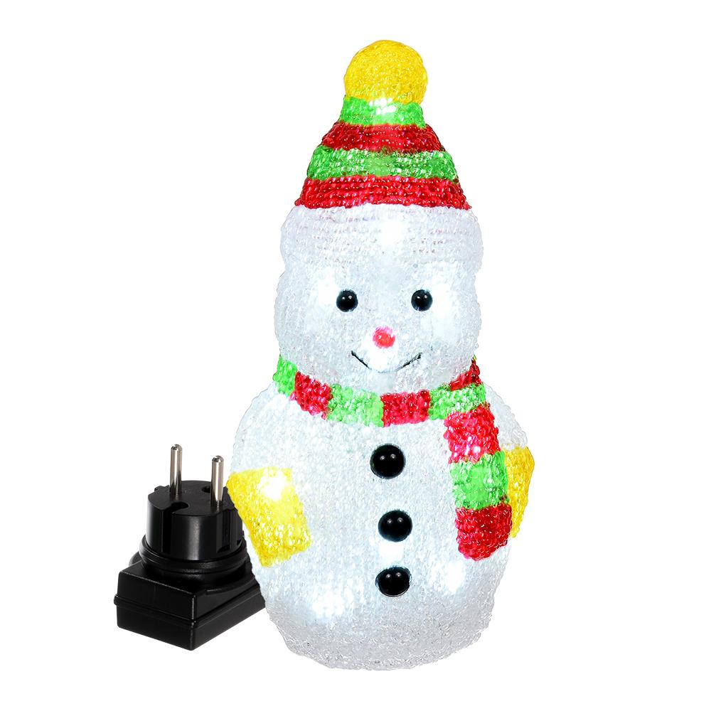 Светящееся украшение Vegas Снеговик LED 55102