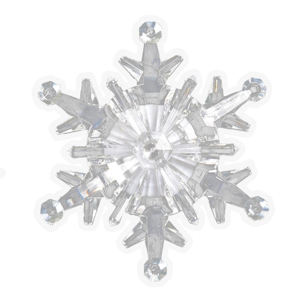 Светодиодная фигурка Vegas Снежинка LED 55055