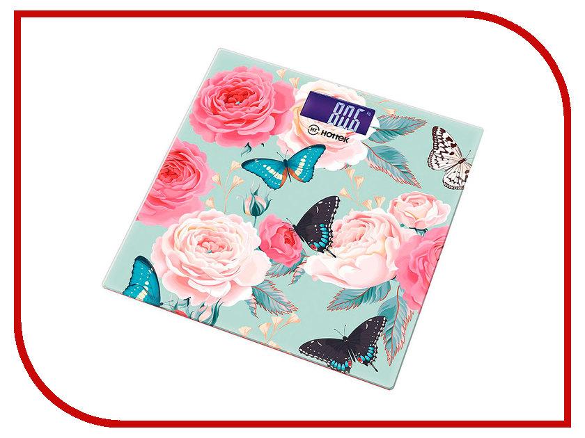 Весы напольные Hottek Бабочки HT-962-011